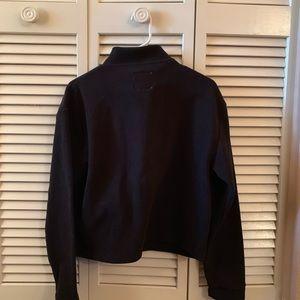 Cotton On Tops - Cotton On Half-Zip Cropped Pullover Sweatshirt